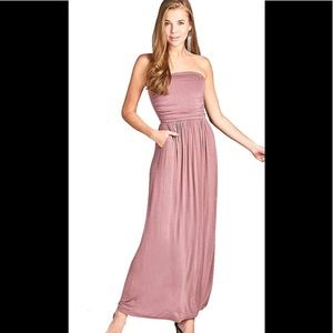 Dresses & Skirts - 💜 TUBE TOP STRAPLESS MAXI DRESS💜